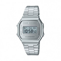 CASIO Montre Vintage Mirror Face A168WEM-7EF - Mixte
