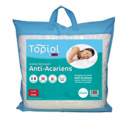 TOPIOL by DODO Oreiller Anti-acariens MICROPERF - 60 x 60 cm