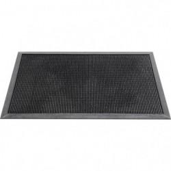 Paillasson uni - 60x100 cm - Style Classique - Coloris Noir