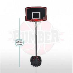BUMBER Panier de Basket Phoenix réglable - 260 cm Basketball