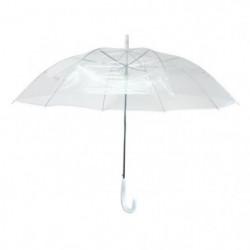 KINSTON Parapluie Canne - Automatique - Transparent
