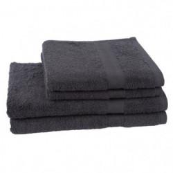 JULES CLARYSSE Lot de 2 serviettes + 2 draps de bain  70x140