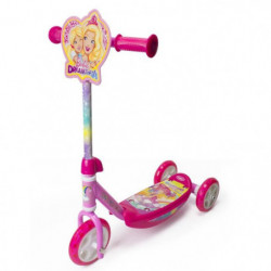 BARBIE DREAMTOPIA - Trottinette 3 roues