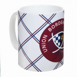 UBB Mug motif Maillot + Logo - Blanc