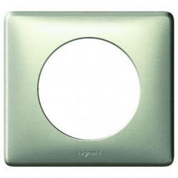 LEGRAND Plaque de finition 1 poste Céliane anodisé titane