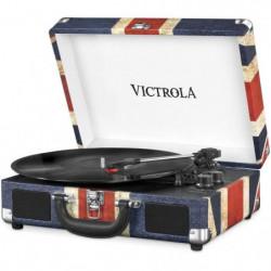 VICTROLA Platine Vinyle Valise Vintage portable Bluetooth