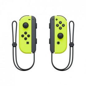 Manettes Joy-Cons Jaunes Néon pour Console Switch