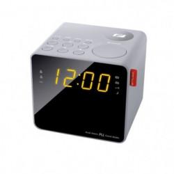 MUSE M-187 CLG Radio Reveil Double Alarme - Tuner PLL FM