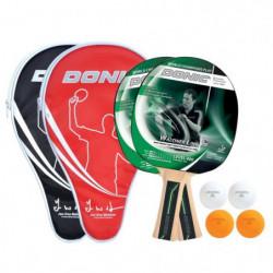 DONIC SCHILDKRÖT Set de 2 raquettes de tennis de table