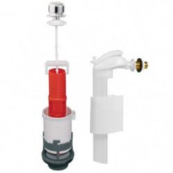 WIRQUIN Mécanisme de WC tirette MX90 + Robinet flotteur latéral