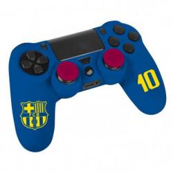Kit e-sport FC Barcelone N°10 - Bleu - Pour manette PS4