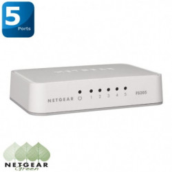 Switch 5 ports Gigabit 10/100/1000 Mbps