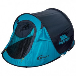 TRESPASS Tente Pop Up 2 personnes Swift 2 - Turquoise