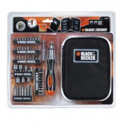 BLACK & DECKER Coffret de tournevis a cliquet avec 56 accessoires