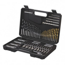 BLACK & DECKER Set de forets et douilles 109 pieces