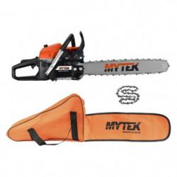 MYTEK Pack Tronçonneuse 58CC - Chaîne et Housse