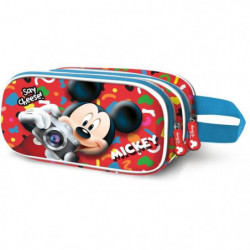 MICKEY KIDS Trousse Double 3D Say C