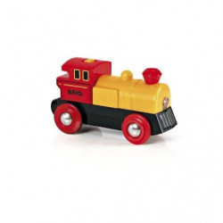 BRIO World  - 33594 - Locomotive A Pile Bi Directionnelle