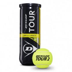 DUNLOP Balle de tennis D TB 3Pet