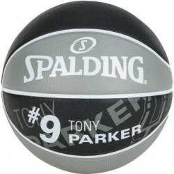 SPALDING Ballon de basket-ball NBA Player Tony Parker