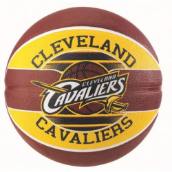 SPALDING Ballon de basket-ball NBA Team Cleveland Cavaliers