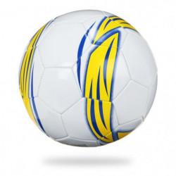 Ballon football Europ ball - Blanc et jaune - Taille 5