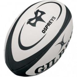 GILBERT Ballon de rugby Replica Ospreys T5