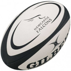 GILBERT Ballon de rugby Replica Newcastle T5