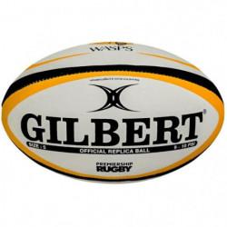 GILBERT Ballon de rugby Replica Wasps T4