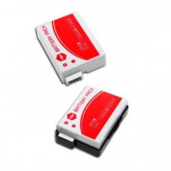 2 x batteries LPE-8, LPE8 pour CANON - MP EXTRA