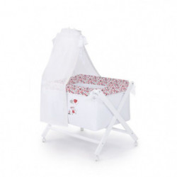 ABSORBA Berceau complet en bois London fille