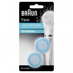 Braun Face 80-e Brosse Exfoliante pour Nettoyer les Pores