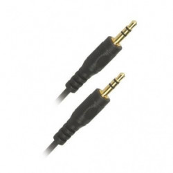 APM 418004 Cordon Jack 3,5 mm stéréo Mâle / Jack 3,5 mm