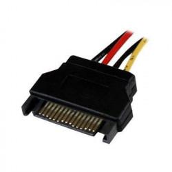 Câble d'alimentation interne LP4 SATA de 30 cm F/M