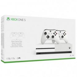 Xbox One S 1To 2 manettes + 14 jours d'essai au Xbox Live Go
