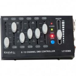 IBIL LC12DMX Contrôleur dmx à 12 canaux - Noir