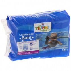 LES TILAPINS Couche de bain -Taille 4 - De 7 à 13kg