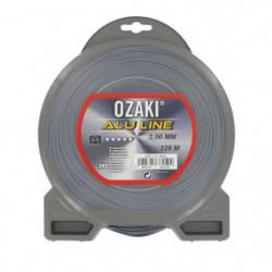 JARDIN PRATIQUE Fil nylon alu line OZAKI pour débroussailleuse