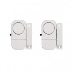 CHACON Lot de 2 mini-alarmes détecteurs d'ouverture