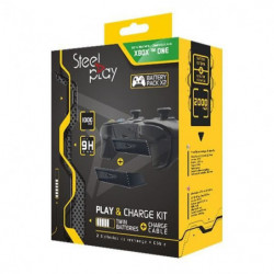 Kit Play & Charge Steelplay pour manette Xbox One