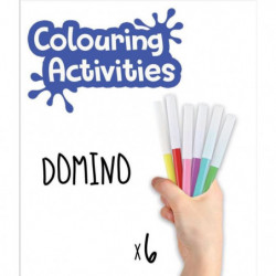 EDUCA - malette domino des animaux a colorier