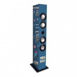 METRONIC Enceinte Colonne Bluetooth - Miami Beach