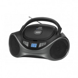AEG SR 4375 BT Boombox Bluetooth CD/MP3 - Port USB - Aux-In