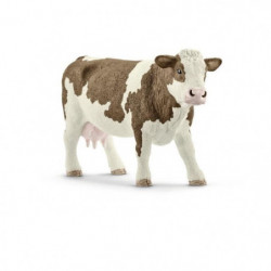 Schleich Figurine 13801 - Animal de la ferme - Vache