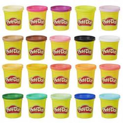 Play-Doh ?  20 pots de Pâte A Modeler - Super couleurs