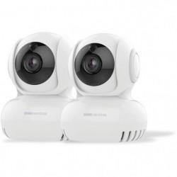 SCS SENTINEL Lot de 2 caméras intérieures motorisées