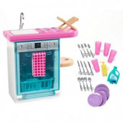 BARBIE - Lave Vaisselle - Mobilier de Poupée & accessoires