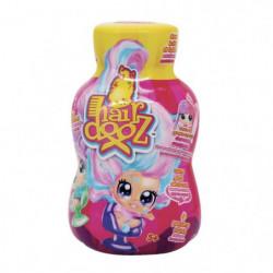 Poupée dans bouteile de shampoing Hairdooz glitter