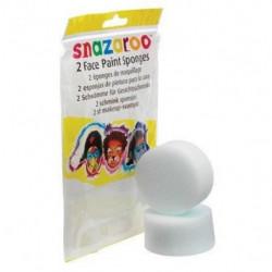 SNAZAROO 2 éponges pour maquillage