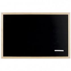 EMOTION Tableau en ardoise - 40 x 60 cm - Contour pin brut